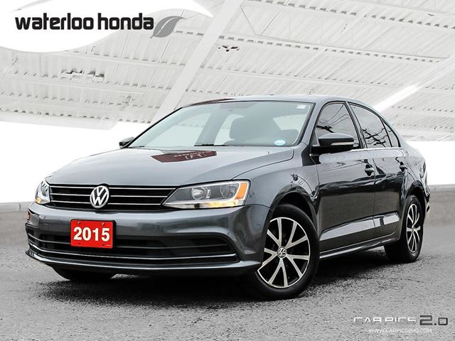 2015 VOLKSWAGEN JETTA 1.8 TSI Comfortline Bluetooth, Back Up Camera, Heated Seats and more! in Waterloo, Ontario