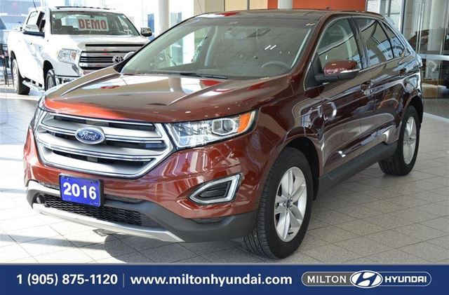 2016 FORD EDGE SEL SEL ECO BOOST in Milton, Ontario
