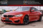 2015 BMW M4 SMG Navi Backup Cam Bluetooth Heated Front Seats Heads Up Display 19Alloy Rims in Bolton, Ontario