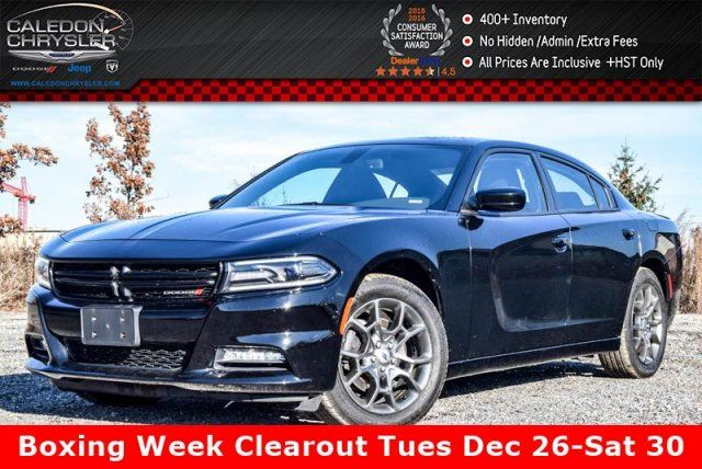2017 DODGE Charger SXT Rallye Group Sunroof Backup Cam Bluetooth Blind Spot Heated Seats 19Alloy Rims in Bolton, Ontario