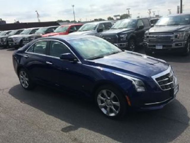 2015 CADILLAC ATS 2.5L RWD w/ Excess Wear Ins., Full Warranty Entire Term in Mississauga, Ontario