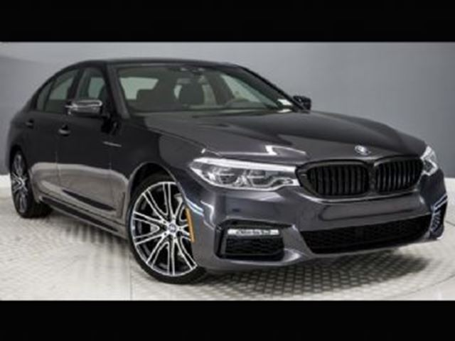 2017 BMW 5 Series 540i XDrive Sedan HEA Package 2 In Mississauga Ontario
