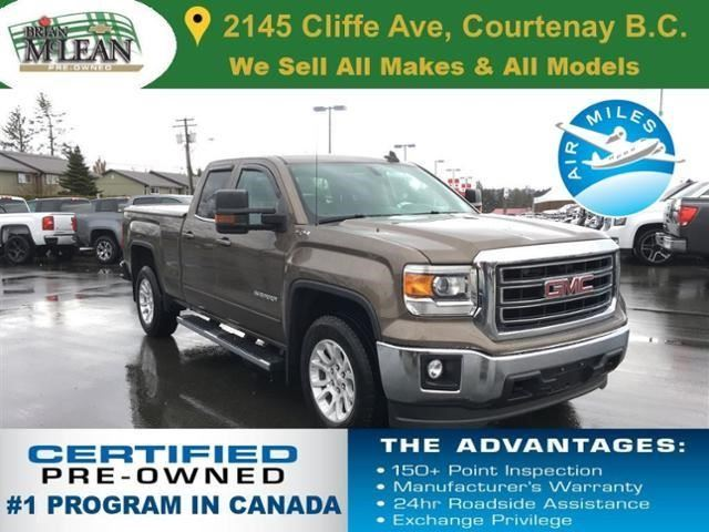 2015 GMC Sierra 1500 SLE in Courtenay, British Columbia