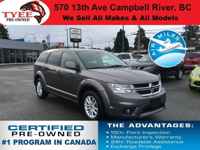 2013 DODGE JOURNEY SXT in Campbell River, British Columbia