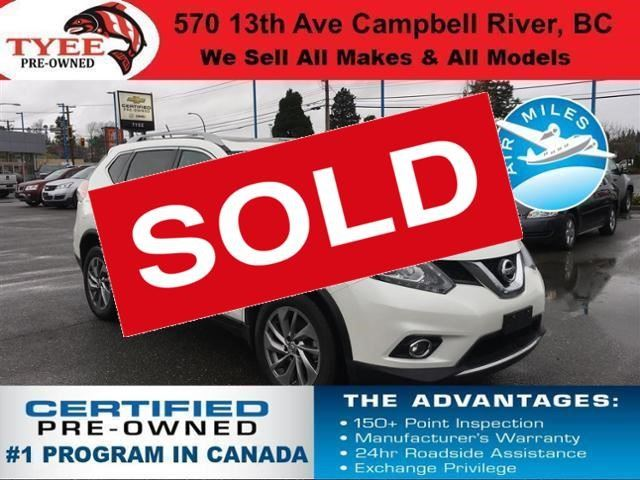 2015 Nissan Rogue S in Campbell River, British Columbia