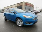 2015 Ford Focus TITANIUM, NAV, HTD. LEATHER, 71K! in Stittsville, Ontario