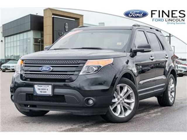 2014 FORD Explorer Limited - PANO ROOF, NAVIGATION, LEATHER, 20 RIMS in Bolton, Ontario