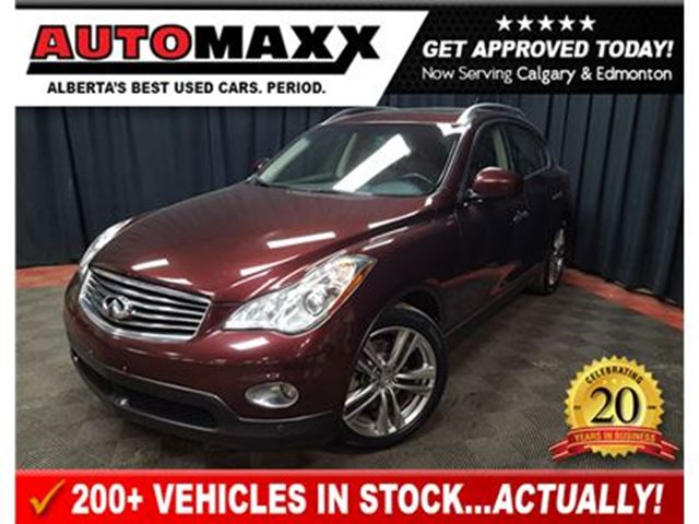 2012 INFINITI EX35 Luxury w/Leather/Nav/Sunroof! in Calgary, Alberta