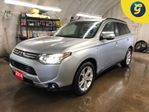 2014 Mitsubishi Outlander GT*S-AWC*NAVIGATION*LEATHER*POWER SUNROOF*BACK UP in Cambridge, Ontario