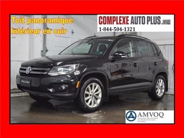 2014 VOLKSWAGEN TIGUAN Comfortline 4Motion *Cuir, Toit pano. AWD 4x4 in Saint-Jerome, Quebec