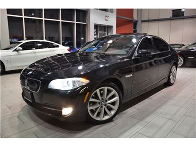 2013 BMW 5 Series xDrive (F10) 1-Owner With Only 51.110 Kms! in Oakville, Ontario