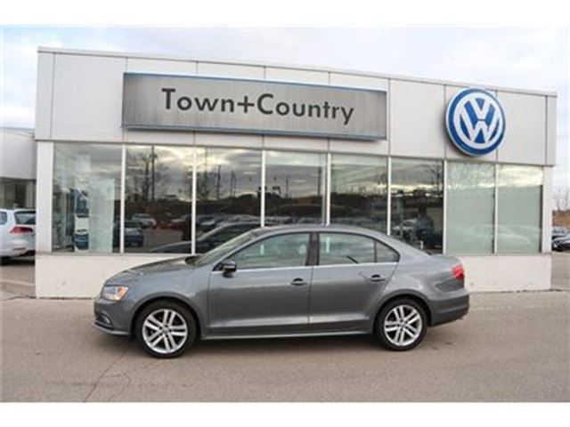 2015 VOLKSWAGEN JETTA Highline 2.0 TDI 6sp DSG at Tip in Markham, Ontario