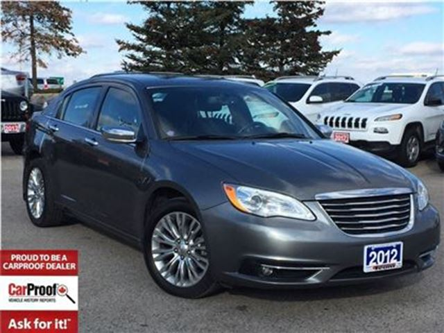 2012 CHRYSLER 200 Limited in Mississauga, Ontario