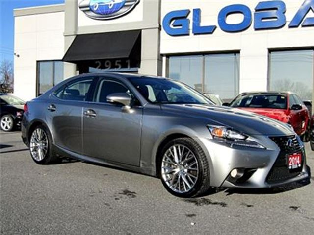 2014 LEXUS IS 250 AWD NAVIGATION LEATHER SUNROOF in Ottawa, Ontario