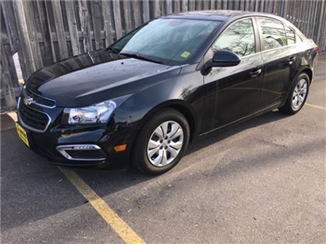 2016 CHEVROLET CRUZE LT, Automatic, Back Up Camera, Only 19,000km in Burlington, Ontario