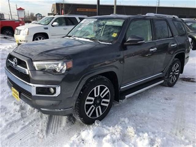 2014 TOYOTA 4RUNNER Limited, Auto, Leather, Sunroof, 4*4 in Burlington, Ontario