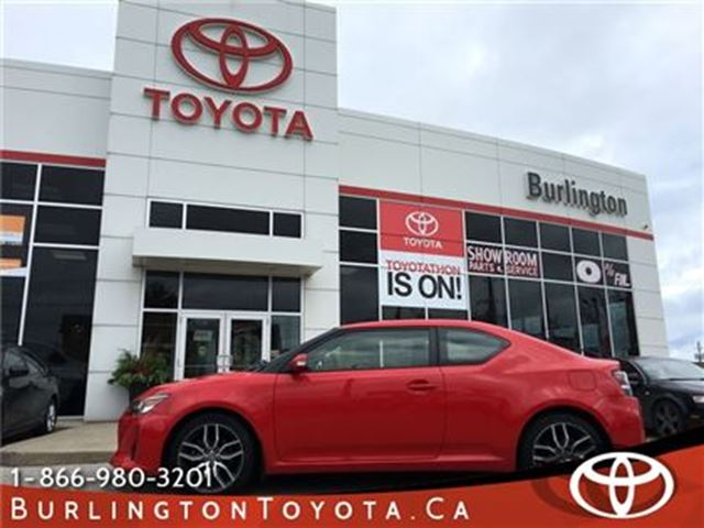 2014 SCION TC SUNROOF. LOW LOW KM'S in Burlington, Ontario