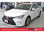 2017 Toyota Camry SE Low kms, Backup Camera, Leather/Sport Fabric in Milton, Ontario
