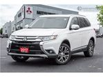 2017 Mitsubishi Outlander LEATHER   7 SEATS   BLIS   CLEAN CARPROOF in Mississauga, Ontario