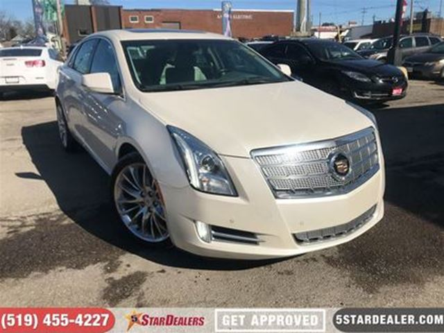 2013 CADILLAC XTS Platinum   AWD   LEATHER   ROOF   NAV in London, Ontario