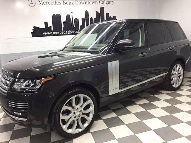 2014 LAND ROVER RANGE ROVER 5.0L V8 Supercharged Autobiography in Calgary, Alberta