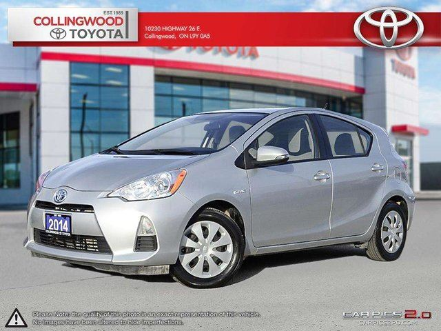 2014 Toyota Prius BASE MODEL AND ONLY ONE PREVIOUS OWNER in Collingwood, Ontario