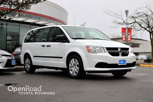 2016 DODGE GRAND CARAVAN Canada Value Package in Richmond, British Columbia
