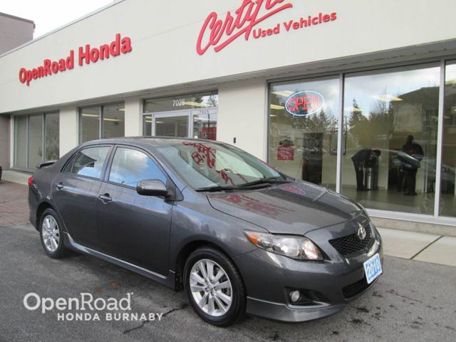 2010 TOYOTA COROLLA S in Burnaby, British Columbia