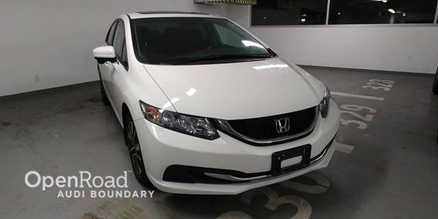 2015 HONDA CIVIC 4dr Auto EX in Vancouver, British Columbia