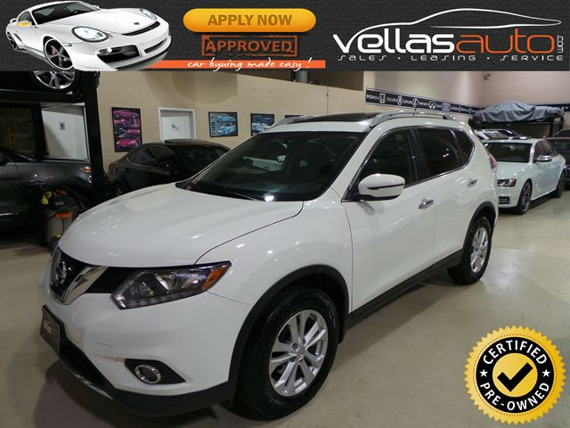 2016 Nissan Rogue SV AWD| PANO RF| REAR CAMERA| HEATED SEATS in Vaughan, Ontario