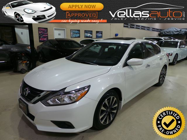 2016 Nissan Altima 2.5 SV| SUNROOF| ALLOYS| HEATED SEATS in Vaughan, Ontario