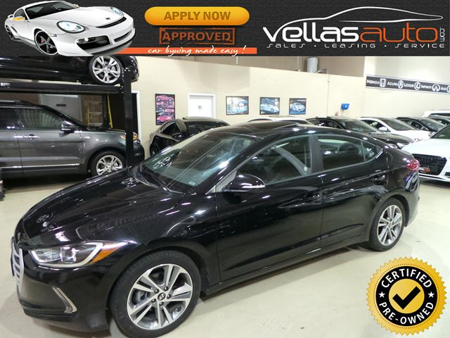 2017 Hyundai Elantra GLS| SUNROOF| R/CAMERA| BLUETOOTH in Vaughan, Ontario