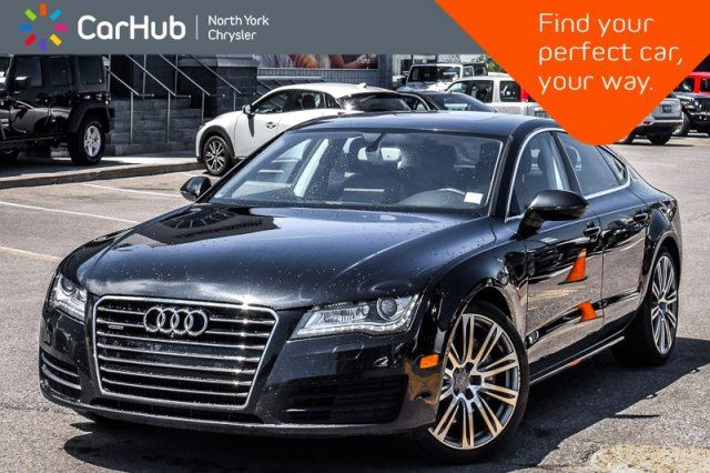 2013 AUDI A7 3.0 Premium  Quattro Sunroof Nav HeatSeats Bose BackUpCam PkAsst. 20Alloys  in Thornhill, Ontario