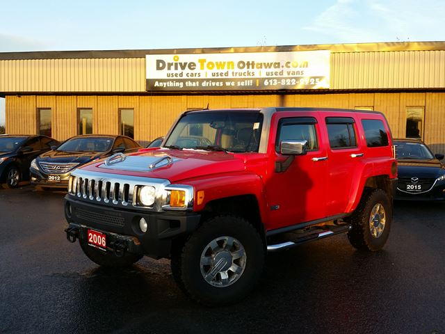 2006 HUMMER H3 4WD LEATHER in Ottawa, Ontario