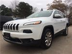 2014 Jeep Cherokee Limited**NAV**HTD SEATS**BACK-UP CAM** in Mississauga, Ontario