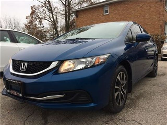 2015 HONDA CIVIC EX**LANEWATCH**BACK-UP CAM**BLUETOOTH** in Mississauga, Ontario