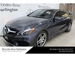 2014 Mercedes-Benz E-Class E350 4matic Coupe in Burlington, Ontario