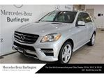 2015 Mercedes-Benz M-Class ML350 Bluetec 4matic in Burlington, Ontario