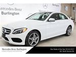 2017 Mercedes-Benz C-Class C300 4matic Sedan in Burlington, Ontario