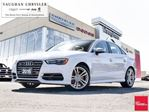 2015 Audi S3 S3 Quattro *2.0T* Panoramic Sunroof*Navigation in Woodbridge, Ontario