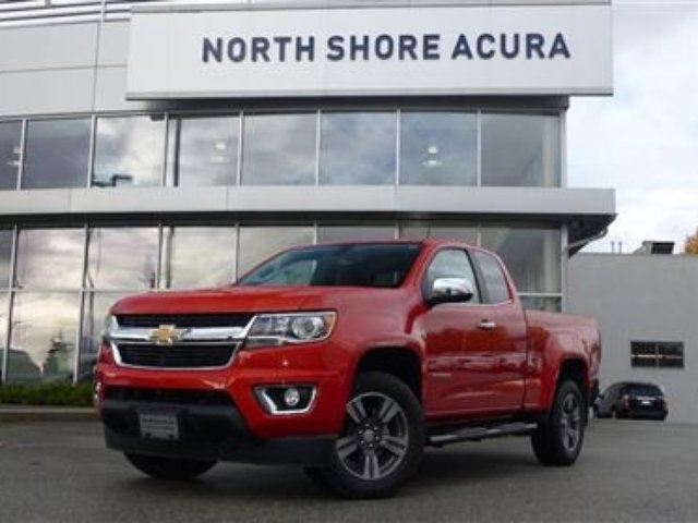 2016 Chevrolet Colorado Extended 4x4 LT in North Vancouver, British Columbia