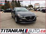 2015 Mazda MAZDA3 GS+Sport+GPS+Camera+Heated Seats+Bluetooth+Hatch++ in London, Ontario