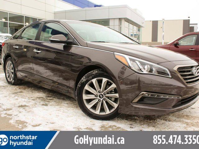 2016 HYUNDAI SONATA GLS Special Edition/ LEATHER/MOONROOF/BACKUP CAM in Edmonton, Alberta
