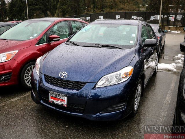 2013 TOYOTA MATRIX Base (A4) in Port Moody, British Columbia