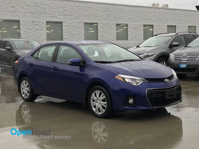 2014 TOYOTA COROLLA S Local A/T Bluetooth USB AUX Cruise Control He in Port Moody, British Columbia