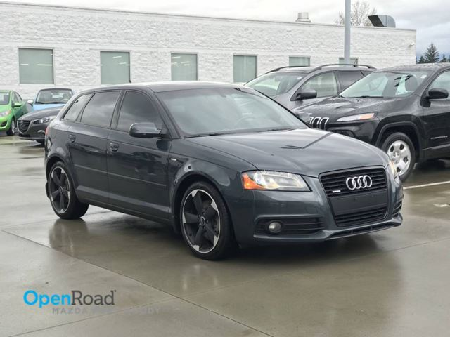 2012 AUDI A3 2.0T Quattro A/T No Accident Local Bluetooth AU in Port Moody, British Columbia