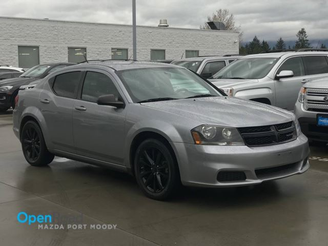 2013 DODGE AVENGER A/T No Accident Local Bluetooth USB AUX Cruise  in Port Moody, British Columbia