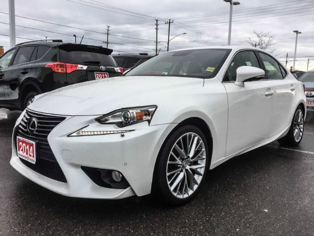 2014 LEXUS IS 250   FLORIDA WINTERS!!! in Cobourg, Ontario