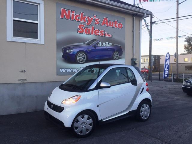 2013 SMART FORTWO PASSION - AUTO - A\C - HEATED SEATS - BLUETOOTH! in Ottawa, Ontario
