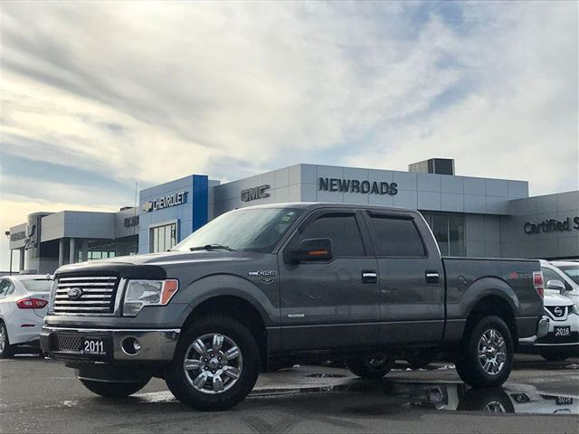 2011 FORD F-150 XLT, 4X4, CREW CAB, NO ACCIDENT in Newmarket, Ontario